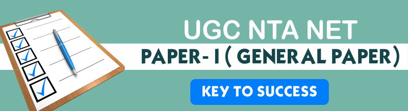 UGC NTA NET Paper-1 A Key to Success