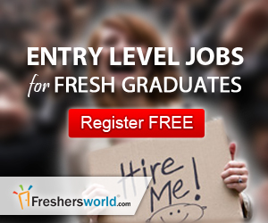 Fresher Job Seekers