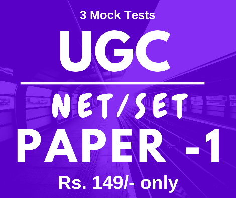 UGC NET SET Mock Tests